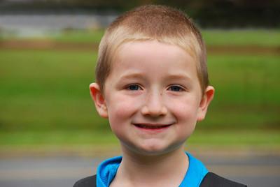 Zack Starts Kindergarten 2012
