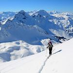 Männliflue ski tour, Diemtigtal 2013-02-17