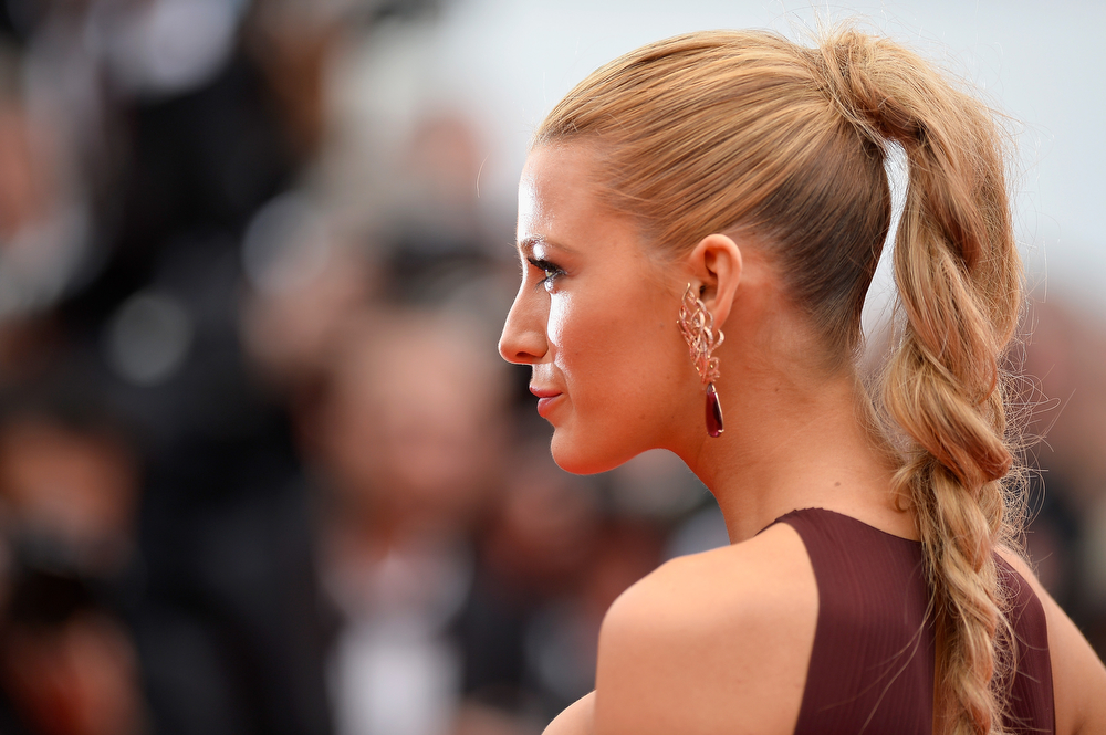 ". Blake Lively attends the Opening ceremony and the ""Grace of Monaco\"" Premiere during the 67th Annual Cannes Film Festival on May 14, 2014 in Cannes, France.  (Photo by Pascal Le Segretain/Getty Images)"