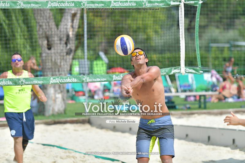 presso Zocco Beach PERUGIA , 25 agosto 2018 - Foto di Michele Benda per VolleyFoto [Riferimento file: 2018-08-25/ND5_8946]