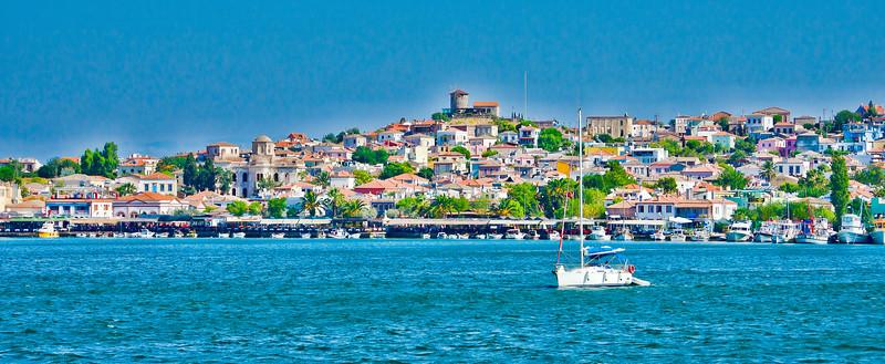 Colorful Cunda, Ayvalik, Turkey