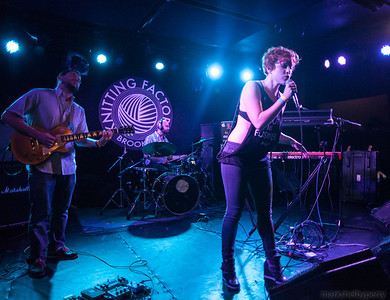 Sister Sparrow & the Dirty Birds with Empire Beats and Erin Barra at Knitting Factory, July 2012