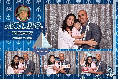 Adrian's 1st Birthday (Mini Open Air Photo Booth)