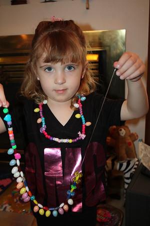 20110314 Sophia Making Necklace