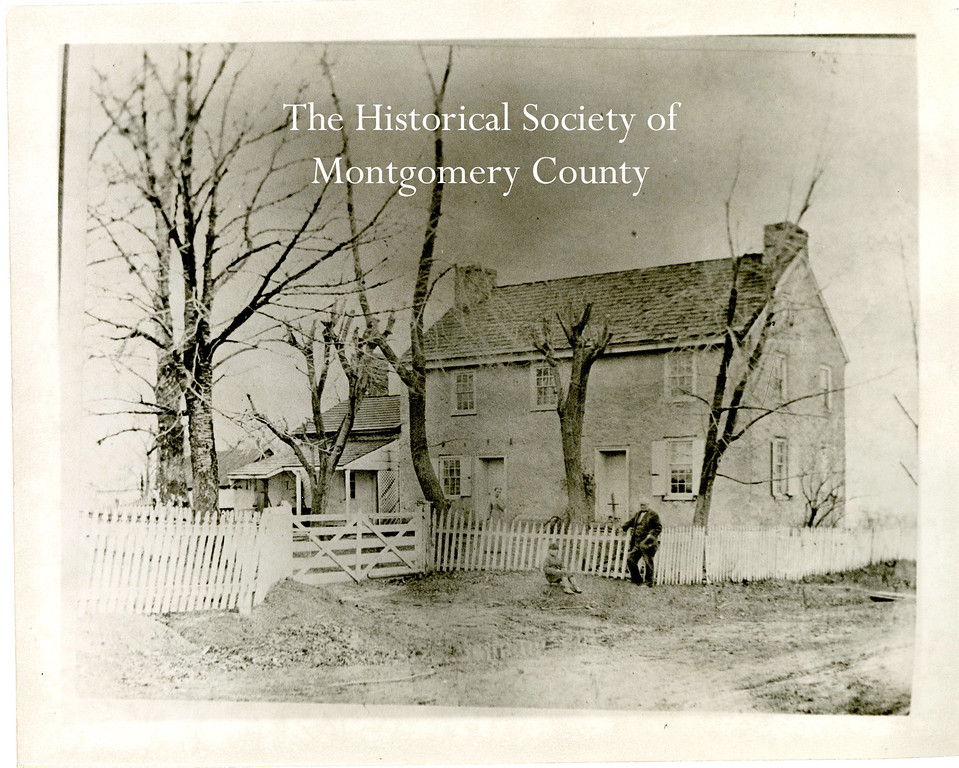 . This undated photo from the Historical Society of Montgomery County shows the DeHaven House, which was located on Skippack Pike in Blue Bell.