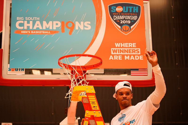 Big South Championship - Celebration