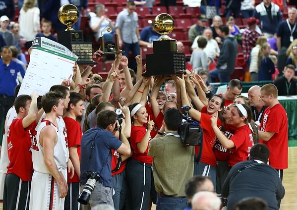 WIAA 2015 1A Boys Basketball State Champions