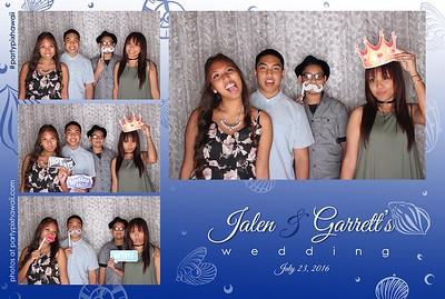 Jalen & Garrett's Wedding (LED Open Air Photo Booth)