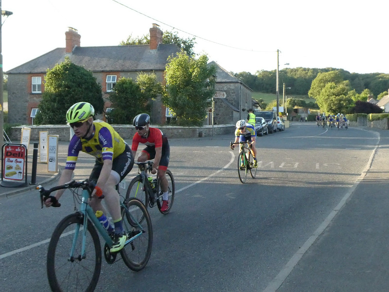 Bike race in Donoe. County Meath.