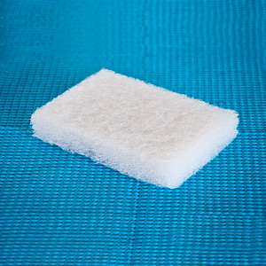 Crystal Clear Scrubbing Pad Blue