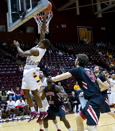 Winthrop vs Gardner Webb 1-8-11