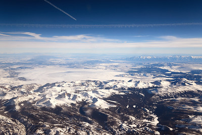 34,000 Feet Above the Rockies
