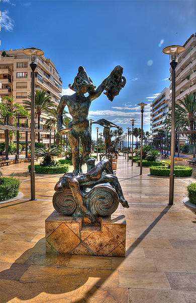 Dali Statues Marbella