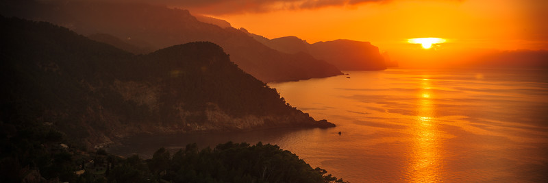 West side Mallorca sunset