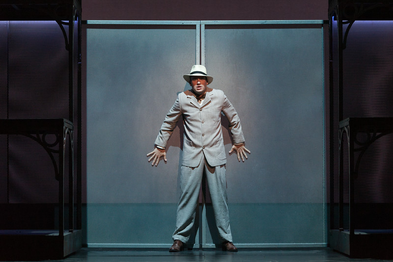 "Christian Bowers as Clyde Griffiths in The Glimmerglass Festival's new production of Tobias Picker's ""An American Tragedy."" Photo: Karli Cadel/The Glimmerglass Festival."
