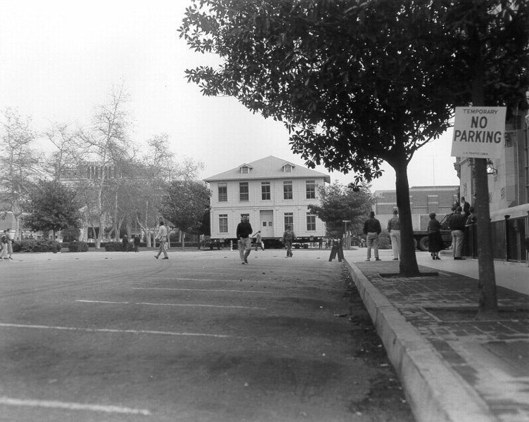 Widney Hall, USC, 1955
