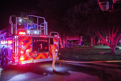 House Fire 100 N Karen Ct (7/5/17)