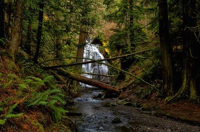 Cascade Falls, Orcas Island 2014