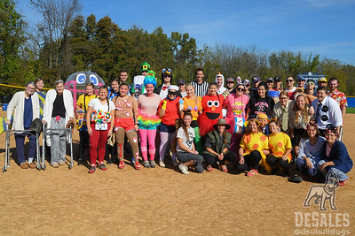 Halloween Softball Game 2017