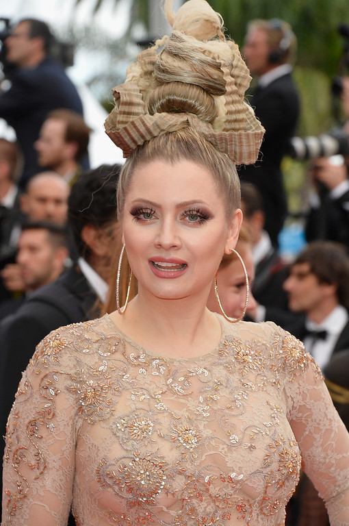 """. Elena Lenina  attends the \""""How To Train Your Dragon 2\"""" premiere during the 67th Annual Cannes Film Festival on May 16, 2014 in Cannes, France.  (Photo by Pascal Le Segretain/Getty Images)"""