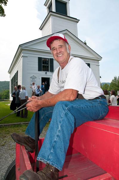 Farmer Fred, Plymouth Notch