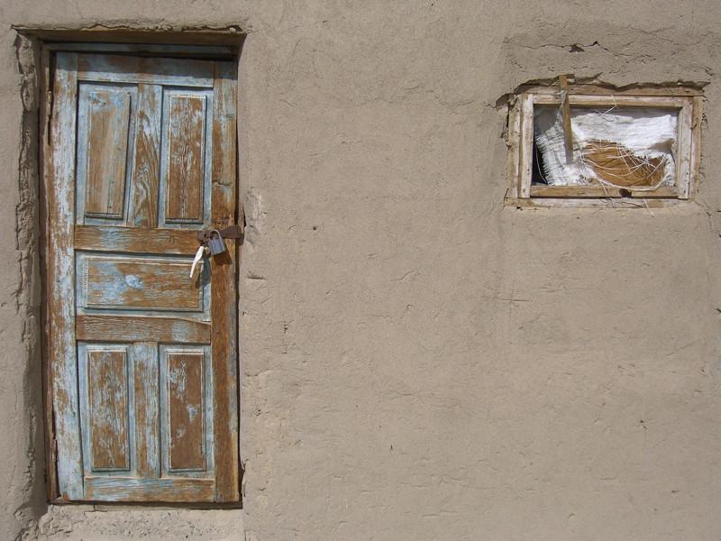 Door and Window - Murghab, Tajikistan