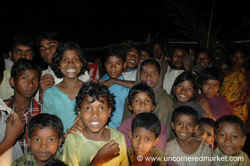 Saontal Village Kids - West Bengal, India