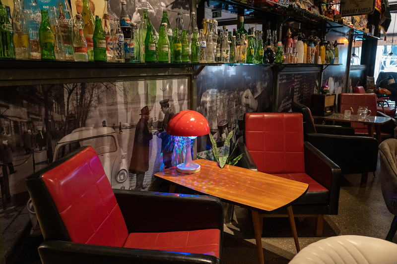 Retro bar in Budapest