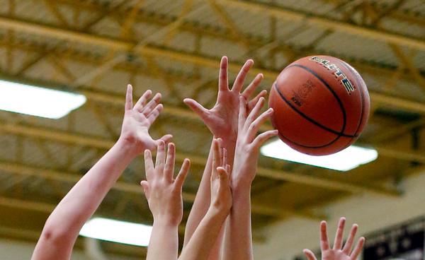 Mt. Greylock vs. Monument Girls MIAA basketball round one