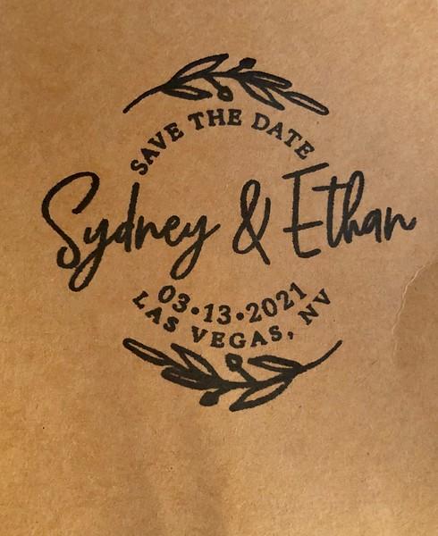 Sydney and Ethan—March 13, 2021, Las Vegas