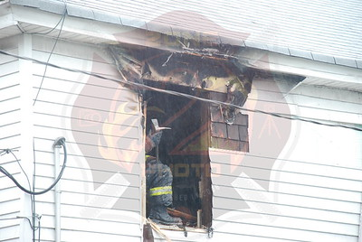 Hempstead F.D.Working Fire Albermarle Ave. 11/9/07