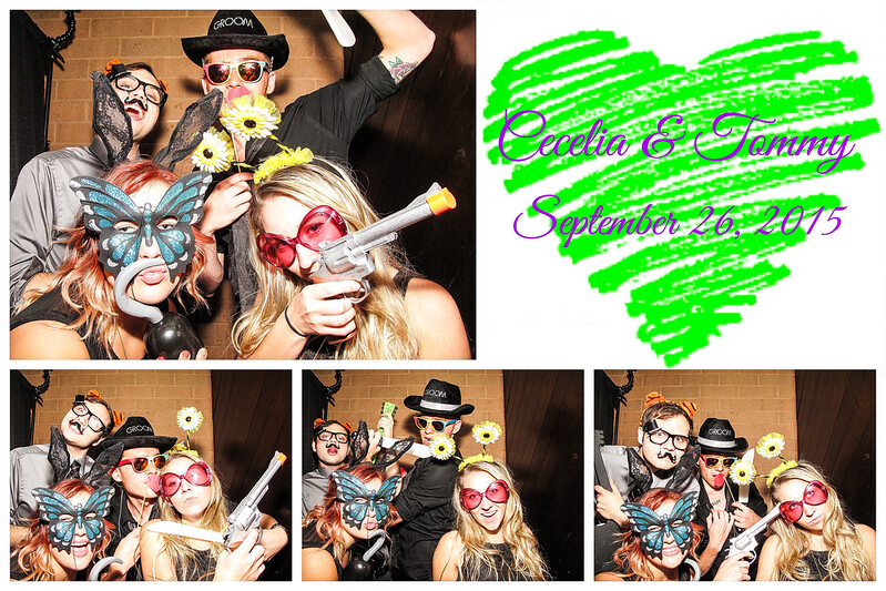 Cecelia & Tommy Wedding Photo Booth
