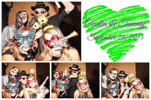 Cecelia & Tommy Wedding Photo Booth