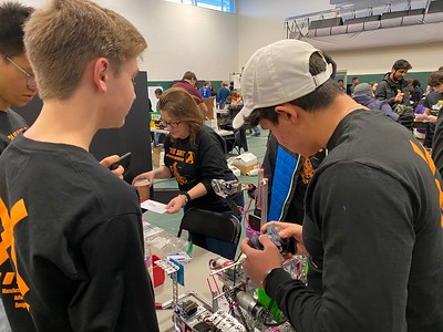 Robotics FTC Competition in Raleigh