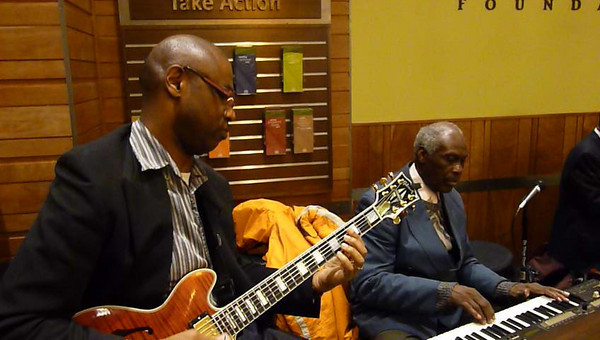 March 11 Fri Reuben Wilson, Billy Kaye and Kevin McNeal - Jazz Royalty Holds Court at Whole Foods