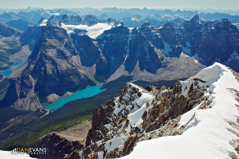Moraine Lake from above