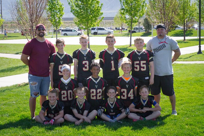 FLAG FOOTBALL Team Raiders