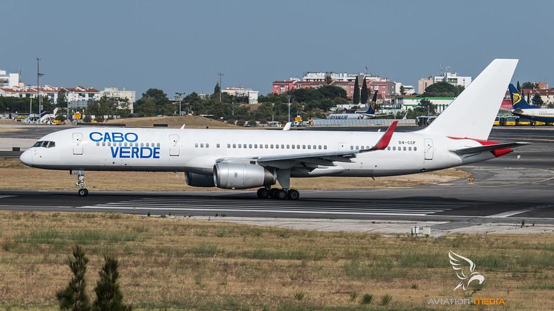 Cabo Verde / Boeing B757-236(WL) / D4-CCF