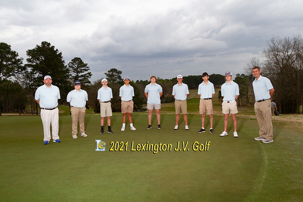 2021 jv boys golf
