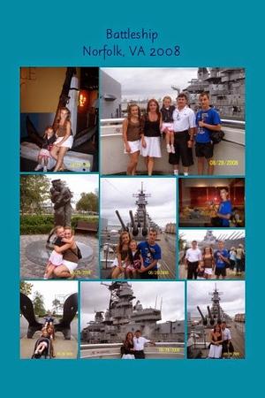 VA, Norfolk - USS Wisconsin Battleship