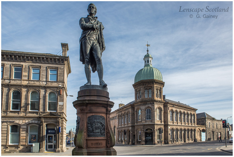 Robert Burns statue, Bernard Street