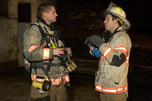 Burn Drill - Jan 18, 2010
