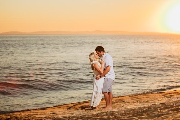 Newport Beach Intimate Wedding Ceremony | Geneva and Troy