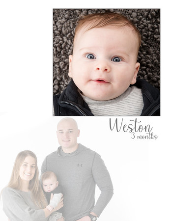 Weston 3 Months