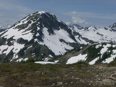 Hannigan Pass & Peak- July 7th, 2007