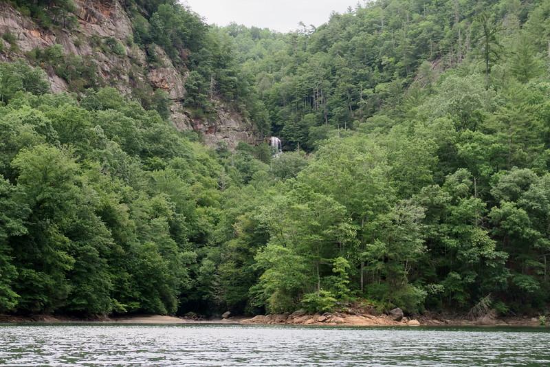 Sol's Creek Falls from Bear Creek Lake