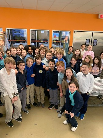 WLS Grade 4 Field Trip to Feeding Westchester - January 17, 2020