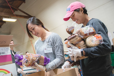 Second Harvest Food Bank of Orange County Volunteers March 2019