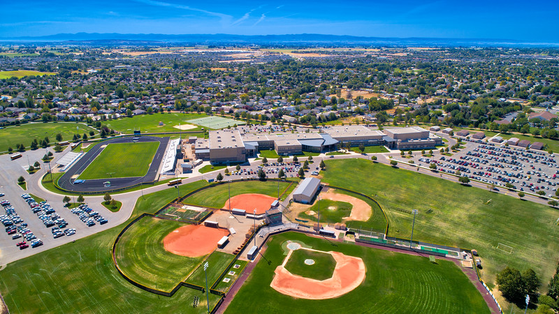 Mountain View High School Aerial
