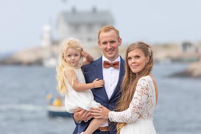Therese och Albin Bröllop